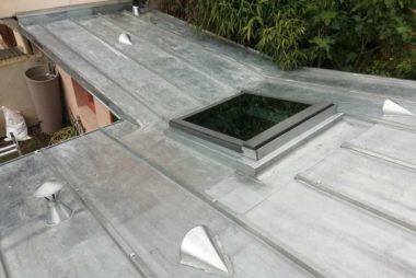 Réfection toiture zinc